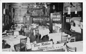 8024 New York City    The Blue RIbbon Restaurant Dinning Room Interior
