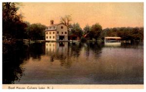 New Jersey  Culvers Lake , Boat House