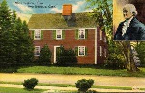 Connecticut West Hartford Noah Webster House 1959