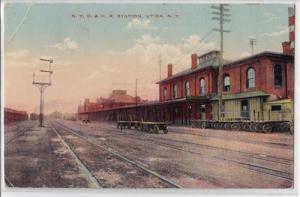 N.Y.C. & H.R. Depot / Station, Utica NY