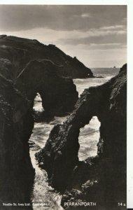 Cornwall Postcard -  Perranporth - Real Photograph - Ref TZ4326