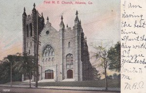 ATLANTA , Georgia , 1907 ; First M. E. Church