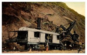 Bucyrus 95 ton Steam-Shovel at work in Panama Canal