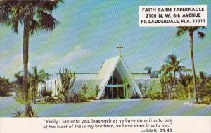 Florida Fort Lauderdale Faith Farm Tabernacle 1976