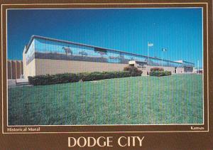 Historical Mural Dodge City Kansas