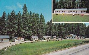 ST. REGIS, Montana, 1950-1960's; Little River Motel