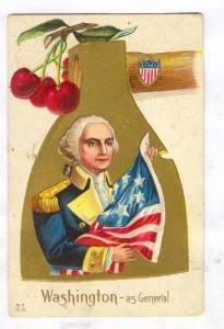 George Washington´s Birthday, Pu-1913 ; as General