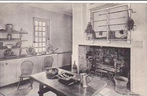 Virginia Mount Vernon Home Of George Washington The Kitchen-Albertype