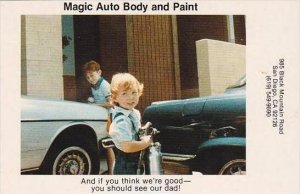 Advertising Magic Auto Body &  Paint San Diego California