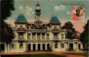 CPA AK INDOCHINA Saigon L'Hotel de Ville VIETNAM (957507)