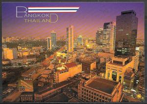 Thailand, Bangkok, tall buildings, unused