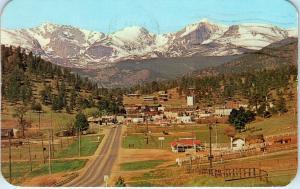 D40/ Clear Creek Canon Colorado Co Postcard 1910 Gold Miner