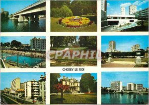 Modern Postcard Images of Choisy le Roi France Various aspects of the City