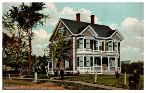 Maine Rockland , Father Phelan's Residence