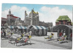 Marlborough-Blenheim Section of Beach Atlantic City New Jersey c1950