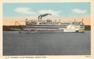 SS President Ferry Boats Ship Unused