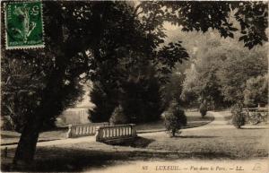 CPA Luxeuil-les-Bains - Vue dans le Parc (636733)