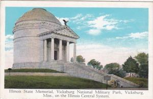 Mississippi Vicksburg Illinois State Memorial Vicksburg National Military Par...