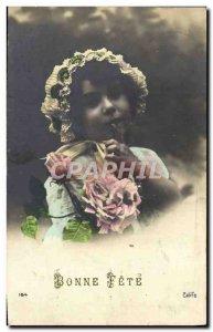 Old Postcard Fun Children Bebe