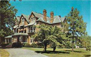 North Carolina Governor's Mansion Raleigh NC Chrome