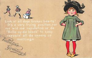 Valentine Greetings Poem Valentine 1905 Raphael Tuck Postcard