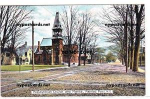 Presbyterian Church & Manse, Painted Post NY