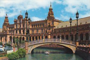 Plaza de Espana Vista Parcial Sevilla Spain
