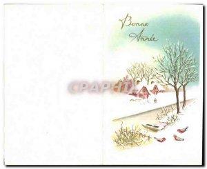 Modern Postcard Happy New Year