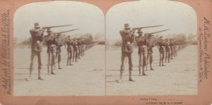 SV ; Spanish-American War , 1898 ; Volley Firing