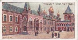Wills Cigarette Card Russian Architecture No 11 Chudov Monastery Moscow