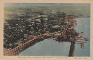 DESERONTO, Ontario , 1910-30s ; Air View