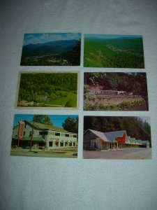 Gatlinburg TN - Lot Of 6 Great Vintage Postcards - x0576