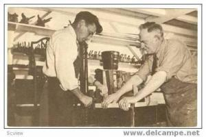 Cabinet Maker & Apprentice, Sturbridge, Mass., 30-50s