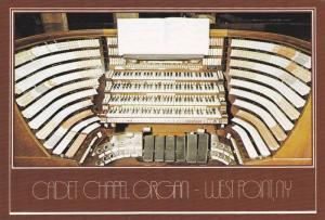 Console Of Cadet Chapel Organ, United States Military Academy, West Point, Ne...