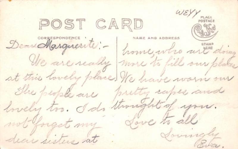 Shaker Postcards Old Vintage Antique Post Cards Village Writing on back