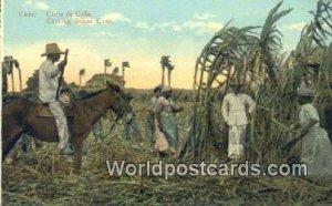 Corte de Cana, Cutting Sugar Cane Republic of Cuba Unused