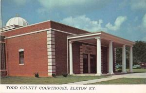 Elkton Kentucky Court House Vintage Postcard J52324