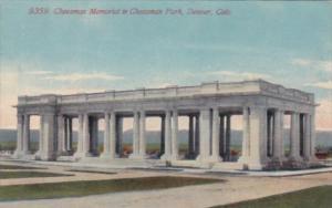 Colorado Denver Cheesman Memorial In Cheesman Park