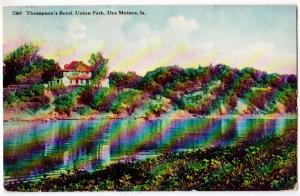 Thompson's Bend, Union Park, Des Moines Iowa