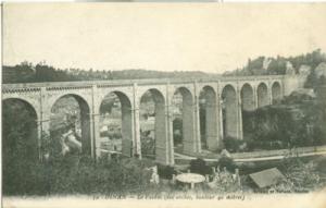 France, Dinan, Le Viaduc, early 1900s unused Postcard CPA