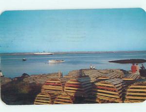 Pre-1980 TOWN VIEW SCENE Yarmouth Nova Scotia NS p9922