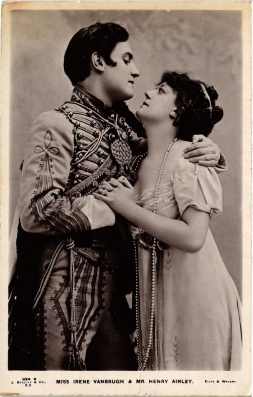 CPA Miss Irene Vanbrugh & Mr.Henry Ainley ARTISTE THEATRE STAR (319760)