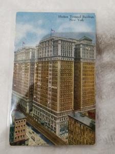 Antique Postcard, Hudson Terminal Buildings, New York