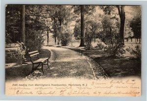 Morristown NJ-New Jersey, Path Washington Headquarters, Vintage c1907 Postcard