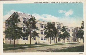 FAYETTEVILLE, Arkansas, 1930-40s; New Boys Dormitory, University Of Arkansas
