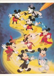 MIckey Mouse 1928 To Today Generation Mickey