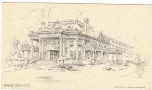 Hotel QUEEN ANNE, New Bern, North Carolina, 30-50s