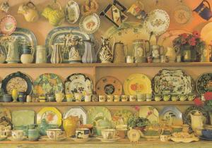 Clapham Country Dresser Stunning Ceramic Ornament Plate Display Postcard