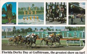 Florida Hallandale Florida Derby Day At Gulfstream Park Horse Racing