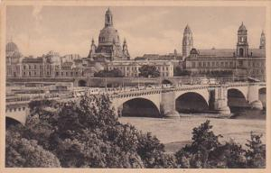General View of DRESDEN, Saxony, Germany, PU-1928
